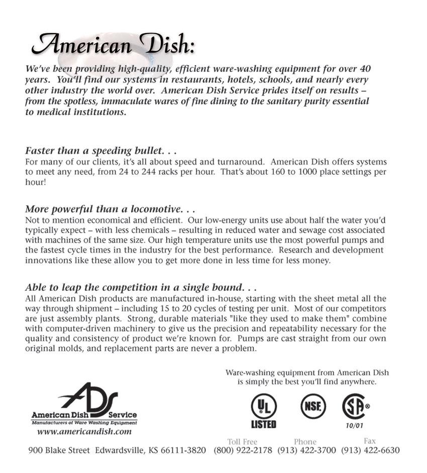 American Dish | Manion Foods